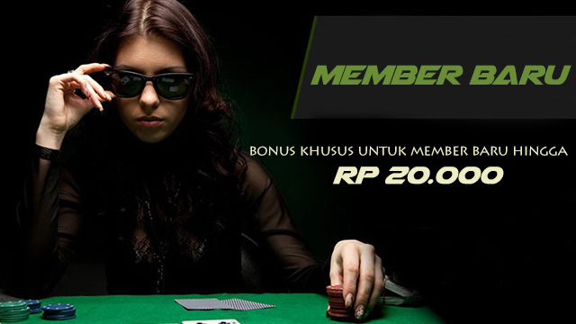 bonus member baru rp 20.000